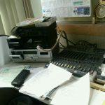 有線放送様へご挨拶と番組素材お届けに